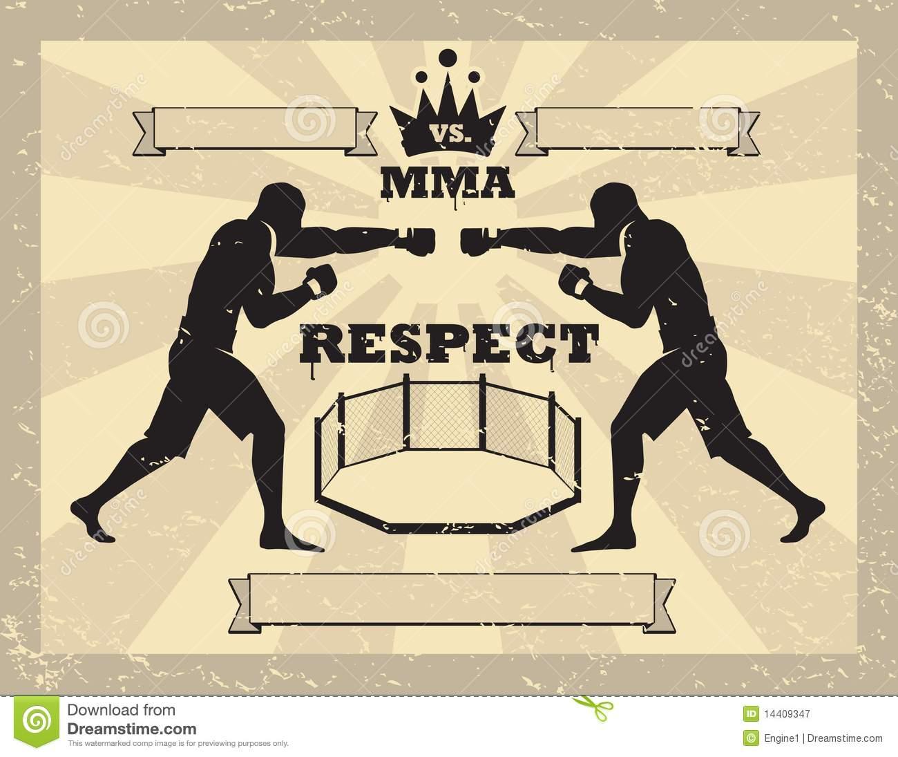 Arts martiaux melanges gants de tapement 14409347